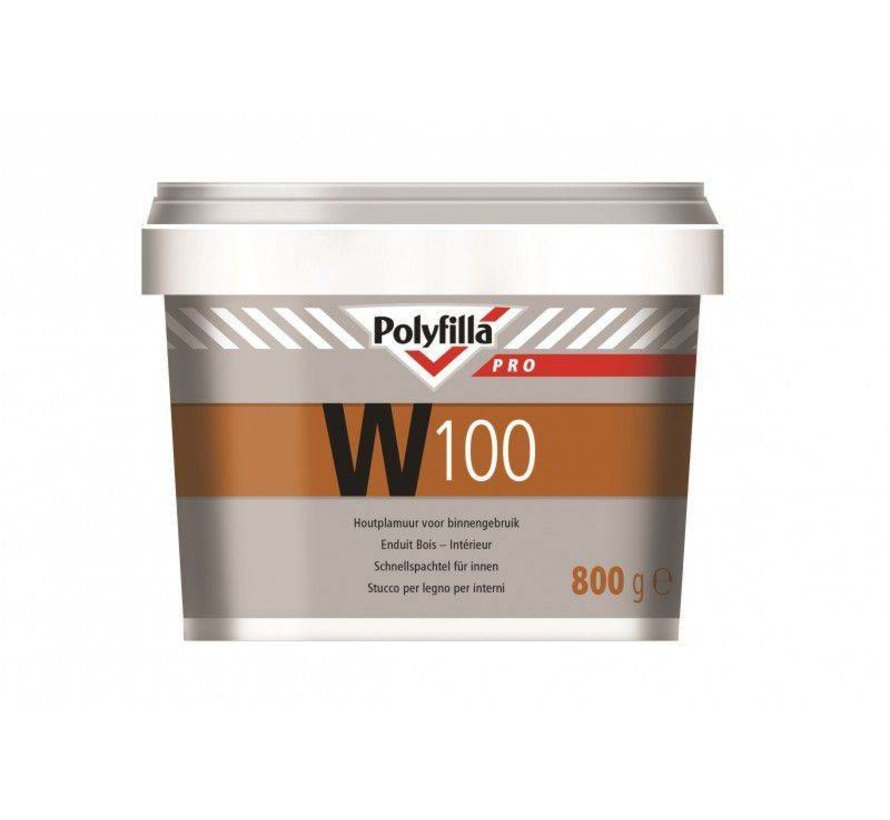 W100 Watergedragen Plamuur