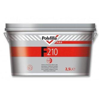 Polyfilla F210 Lichtgewicht Nadenvuller (2,5kg)