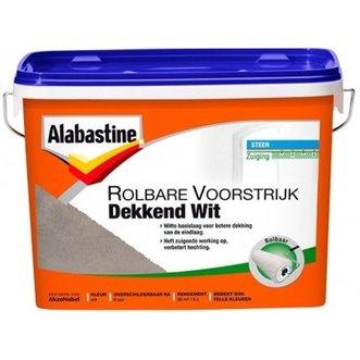 Alabastine Rolbare Voorstrijk Dekkend Wit