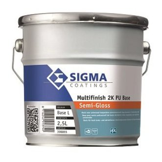 Sigma Multifinish 2K PU Semigloss