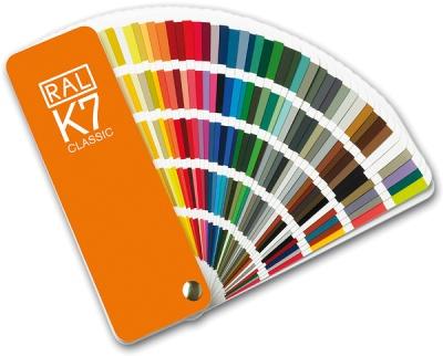 K7 RAL Kleurenwaaier