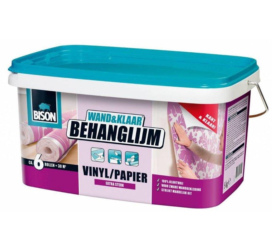 Bison W&K Behanglijm Vinyl Papier