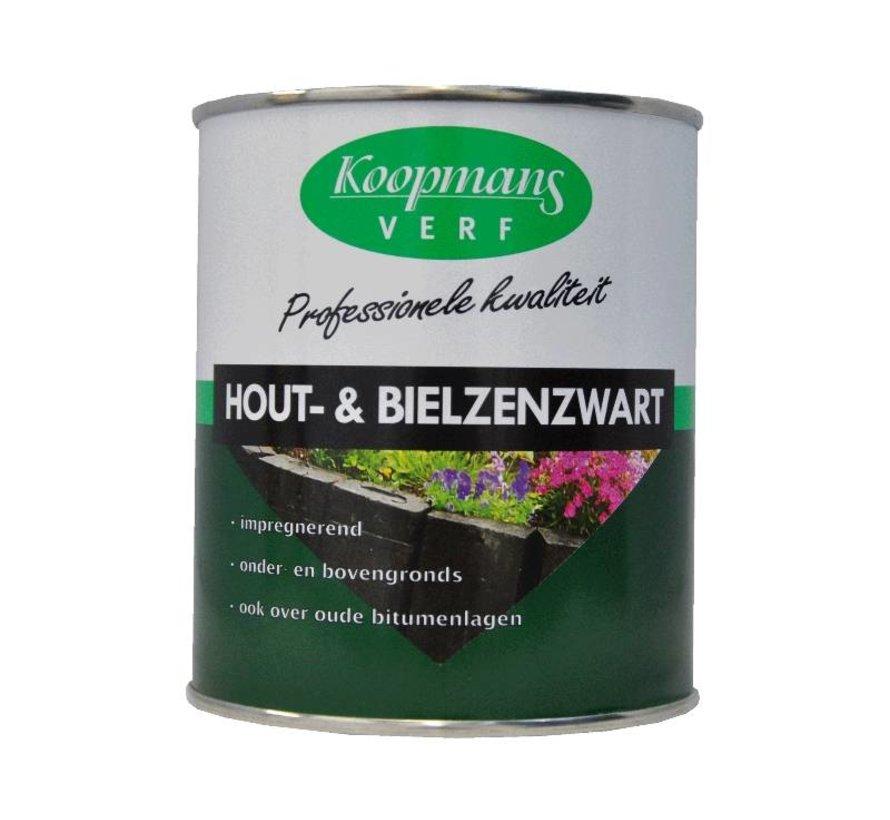 Perkoleum Hout en Bielzenzwart