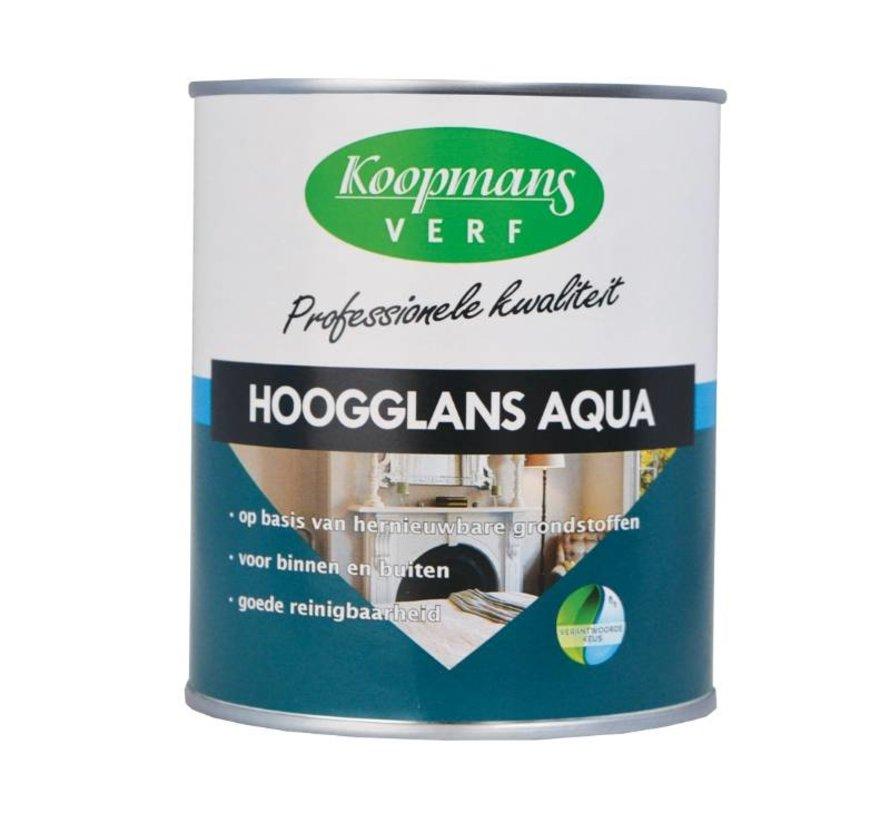 Hoogglans Aqua