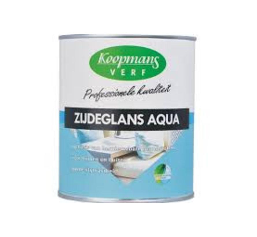 Zijdeglans Aqua