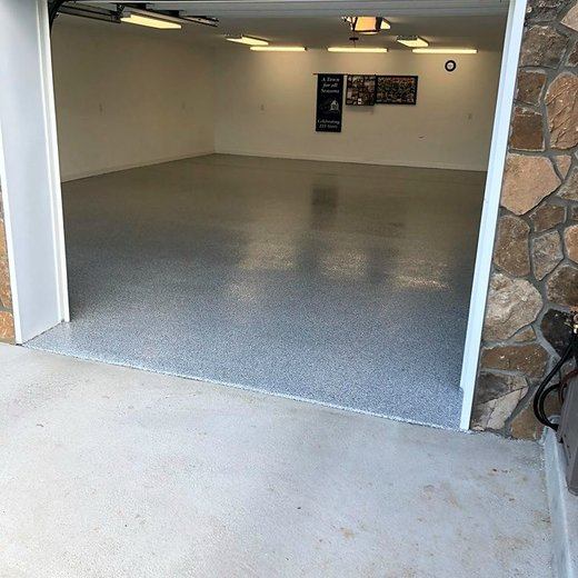 Garage coating