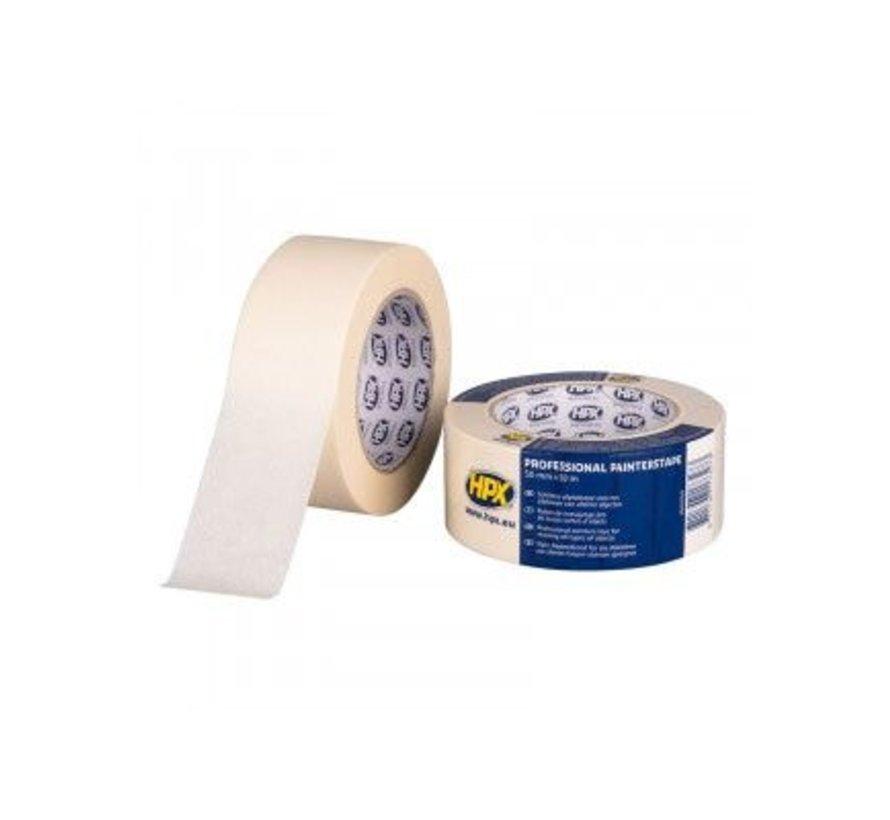 Masking Tape 60°C Cremewit 50mm x 50mtr