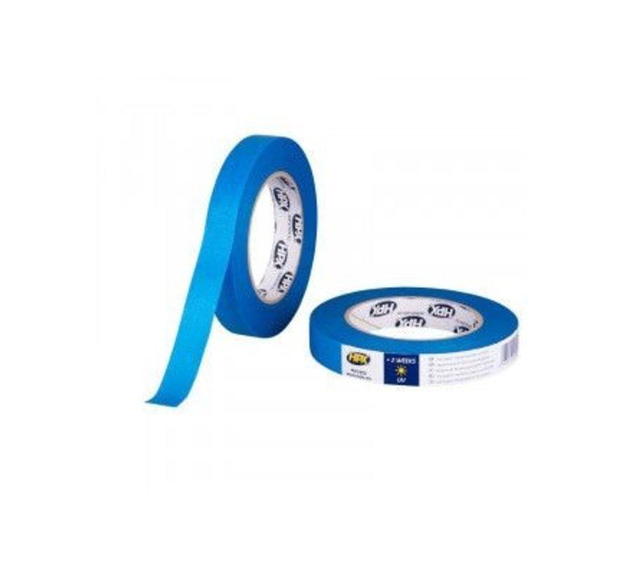 Masking Tape Uv Blauw 19mm x 50mtr