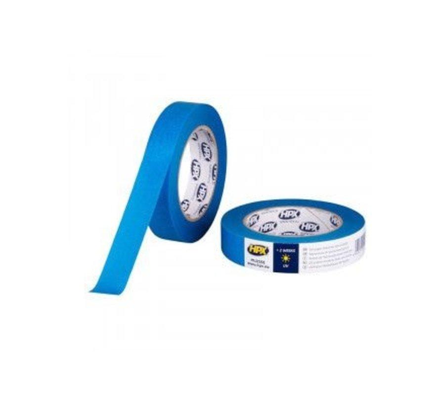 Masking Tape Uv Blauw 25mm x 50mtr