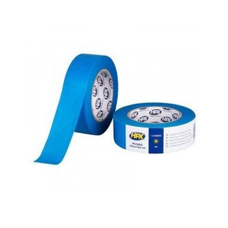 HPX Masking Tape Uv Blauw 38mm x 50mtr