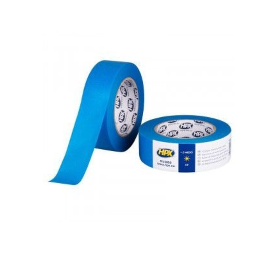 Masking Tape Uv Blauw 38mm x 50mtr