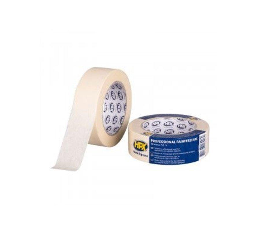Masking Tape 60°C Cremewit 19mm x 50mtr