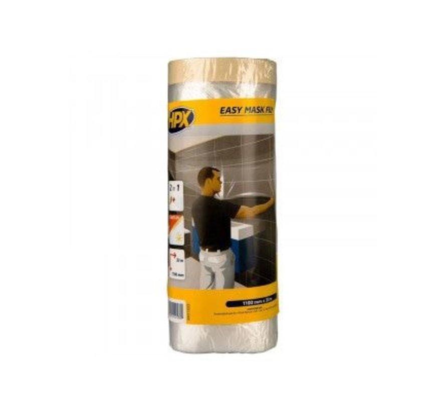 Easy Mask Film Masking Tape Gold 1100mm x 33mtr