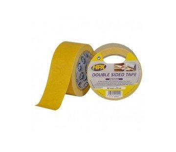 HPX Dubbelzijdige Tapijttape Wit 50mm x 25mtr