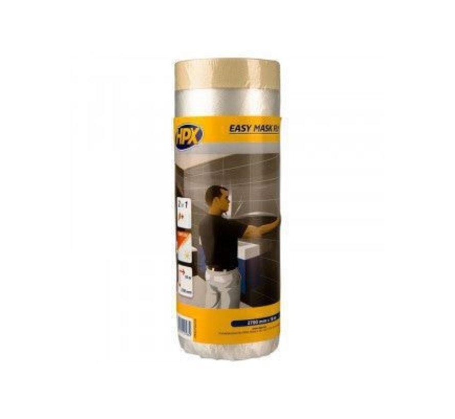 Easy Mask Film Masking Tape Gold 2700mm x 20mtr
