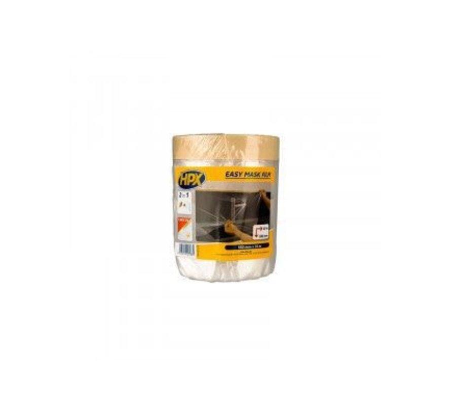 Easy Mask Film Masking Tape Gold 550mm x 33mtr