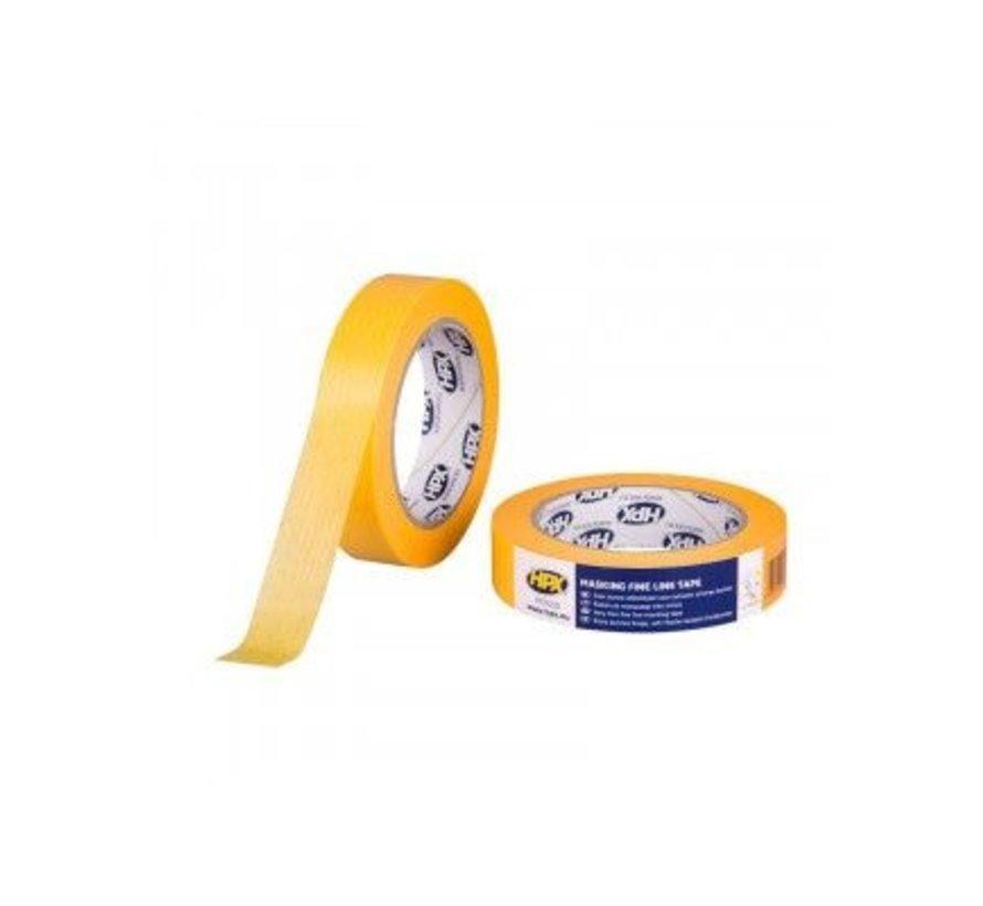 Masking Tape 4400 Oranje 25mm x 25mtr