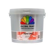 Global Paint Styrol Satin
