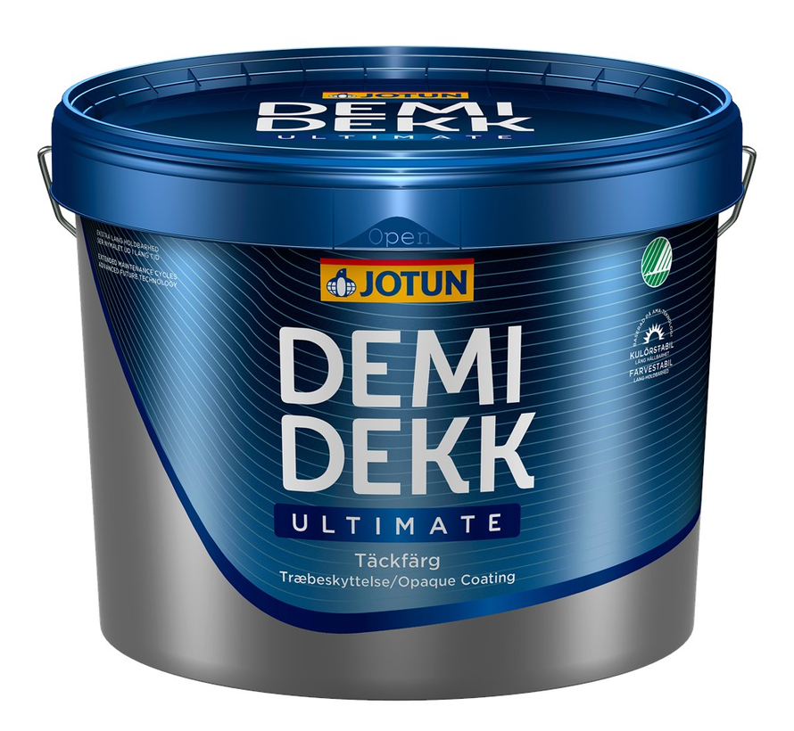 Demidekk Ultimate Tackfarg