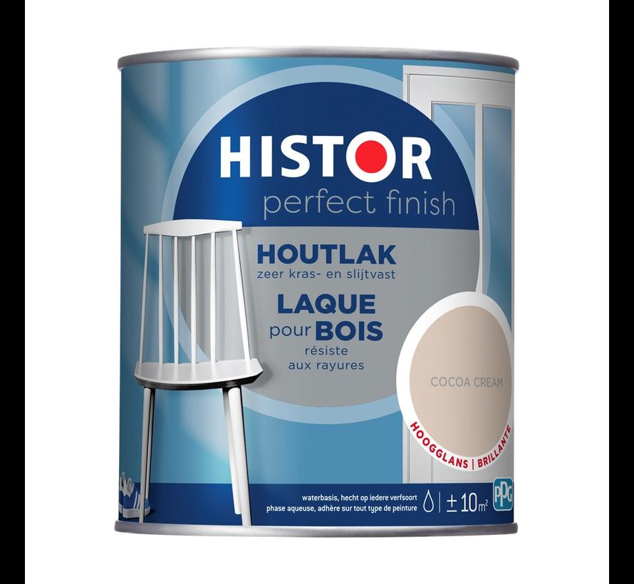 Perfect Finish Houtlak Hoogglans Cocoa Cream