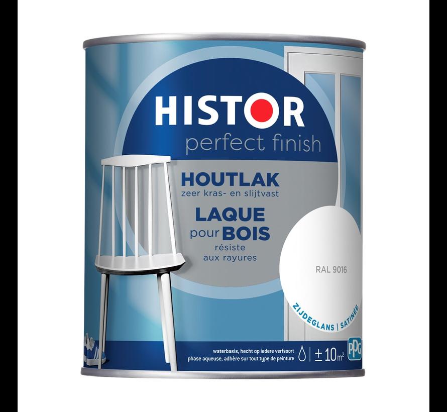 Perfect Finish Houtlak Zijdeglans RAL9016