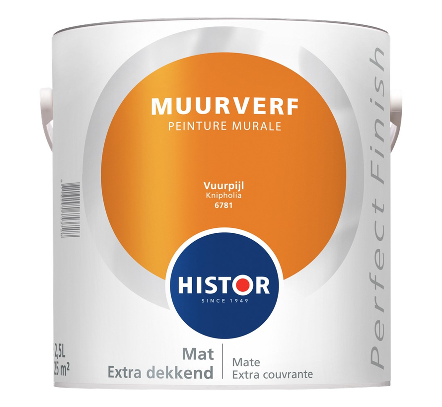 Perfect Finish Muurverf Mat 6781