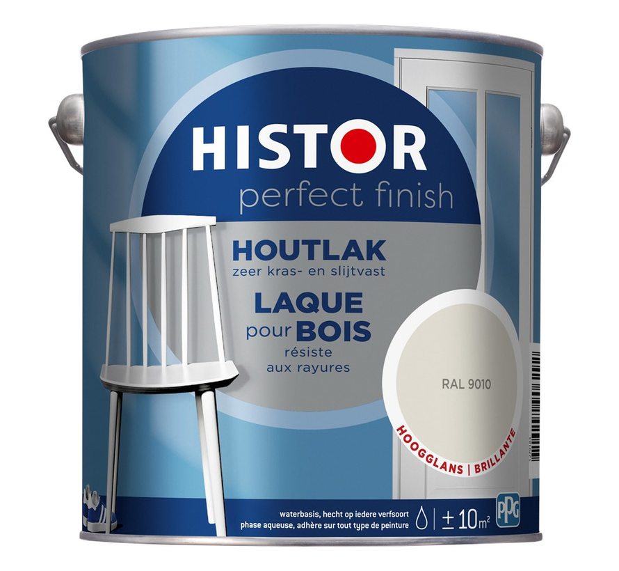 Perfect Finish Houtlak Hoogglans RAL9010