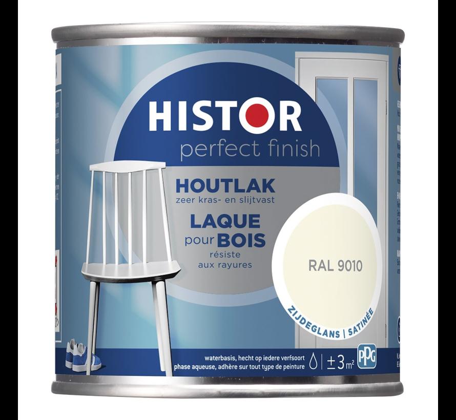 Perfect Finish Houtlak Zijdeglans RAL9010