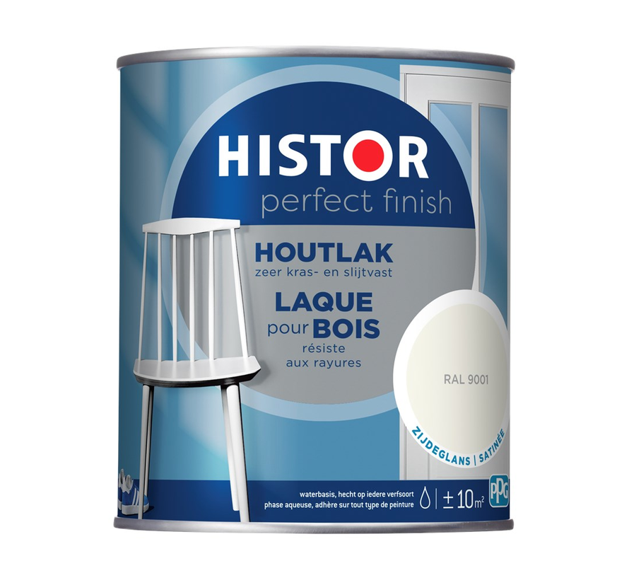 Perfect Finish Houtlak Zijdeglans RAL9001
