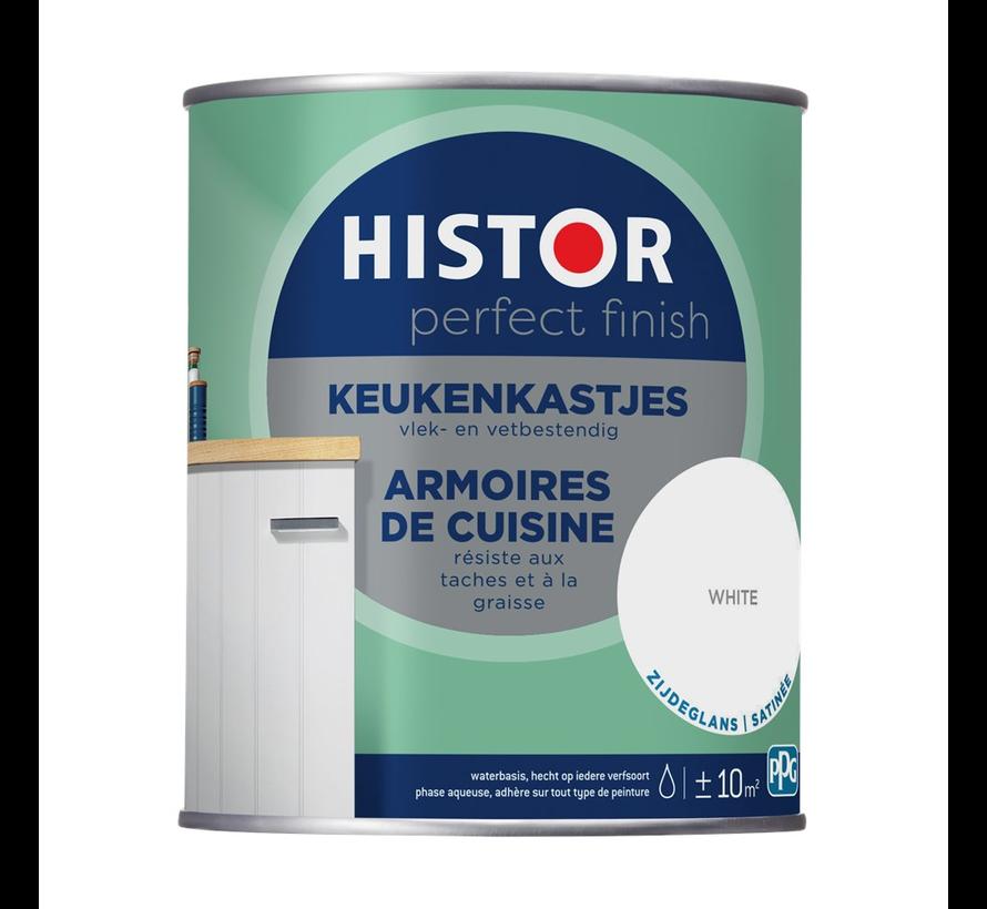 Perfect Finish Keukenkastjes Zijdeglans Wit