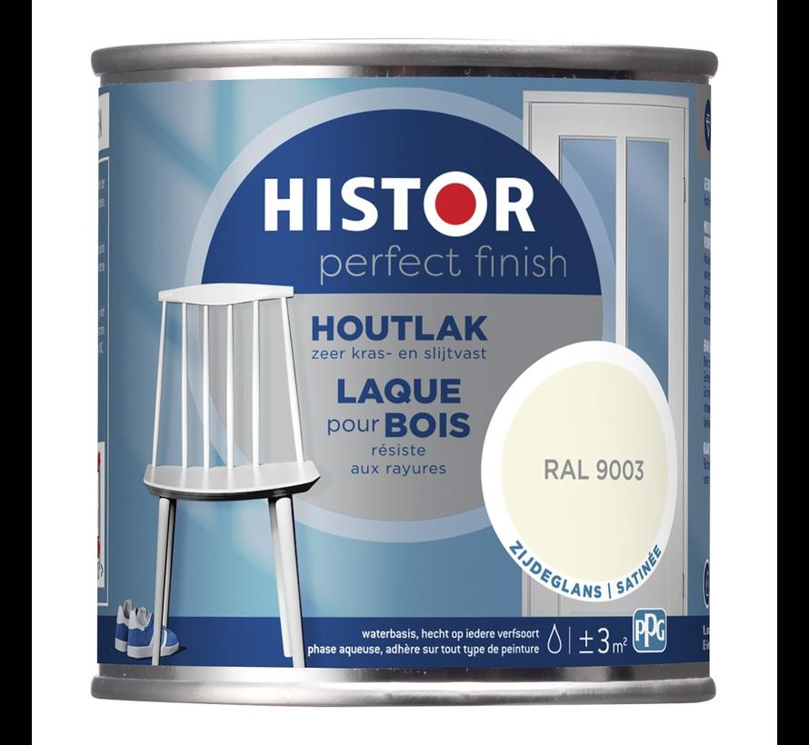 Perfect Finish Houtlak Zijdeglans RAL9003