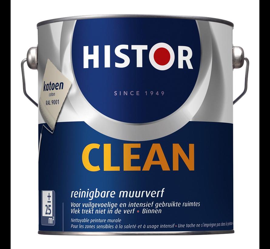 Muurverf Clean RAL9001