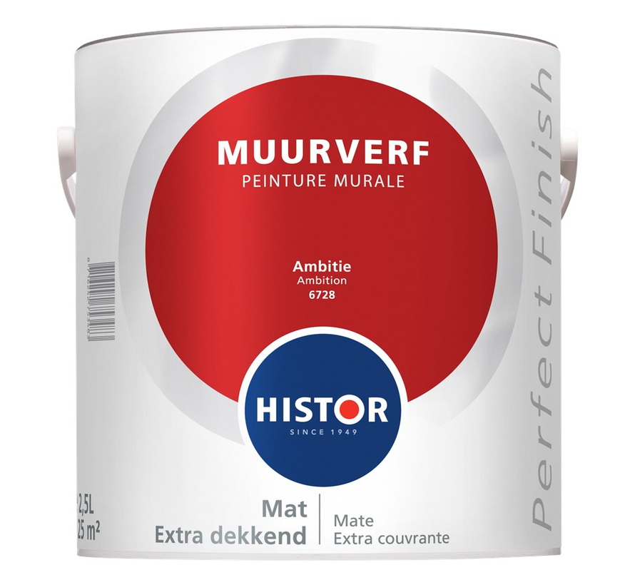 Perfect Finish Muurverf Mat 6728