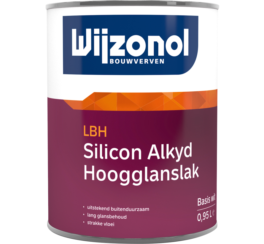 LBH Silicon Alkyd Hoogglanslak