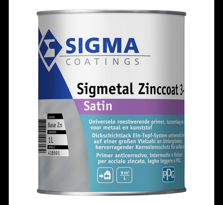 Sigmetal Zinccoat 3-in-1 Satin