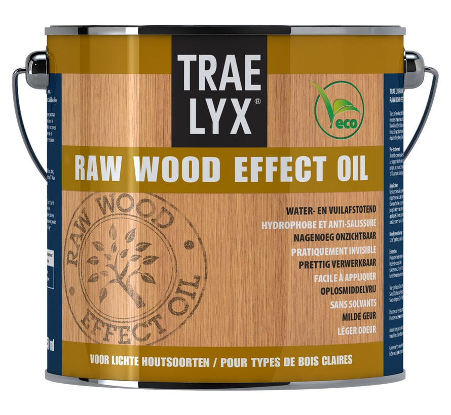 Raw Wood Effect Oil Lichthout