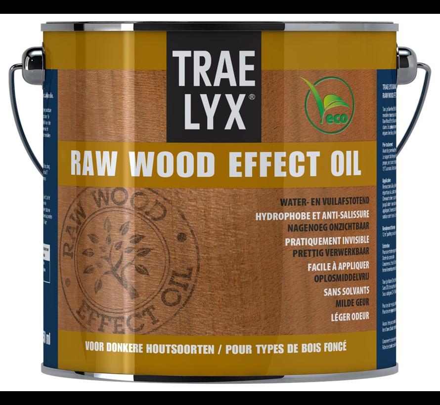 Raw Wood Effect Oil Donkerhout