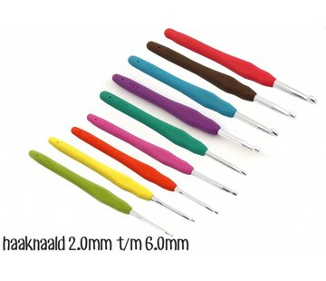 Opry Opry Softgrip haaknaalden set 2.0 - 6.0mm