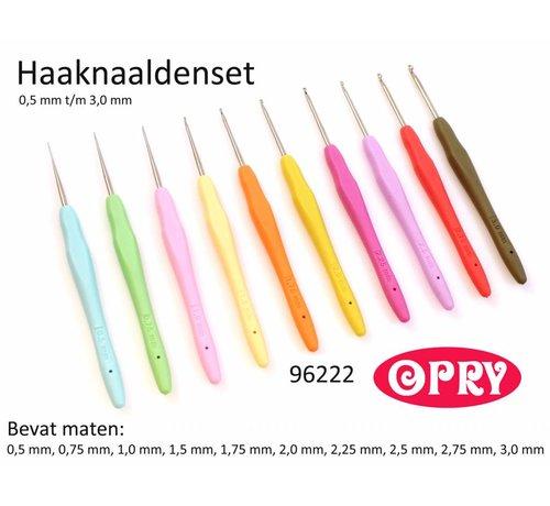 Opry Opry Softgrip haaknaalden set 0.5 - 3.0mm