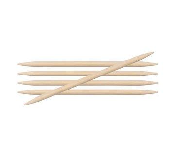 KnitPro KnitPro Bamboo Sokkennaald 15cm 4.0mm