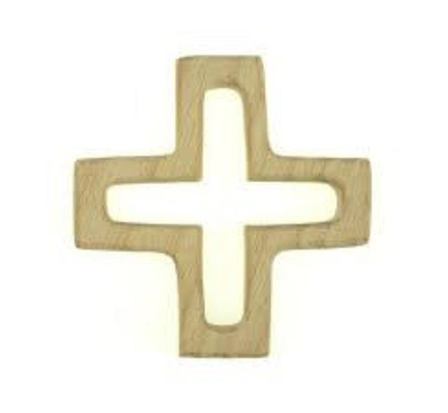 Houten Bijtring Kruis