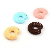 Huismerk Bijtring Donut klein siliconen