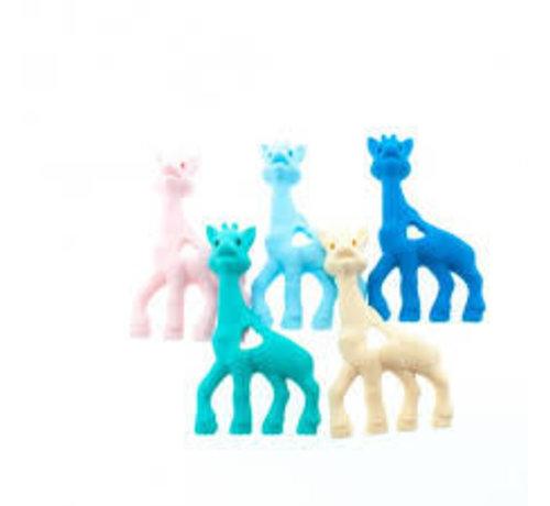Huismerk Bijtring Giraffe siliconen