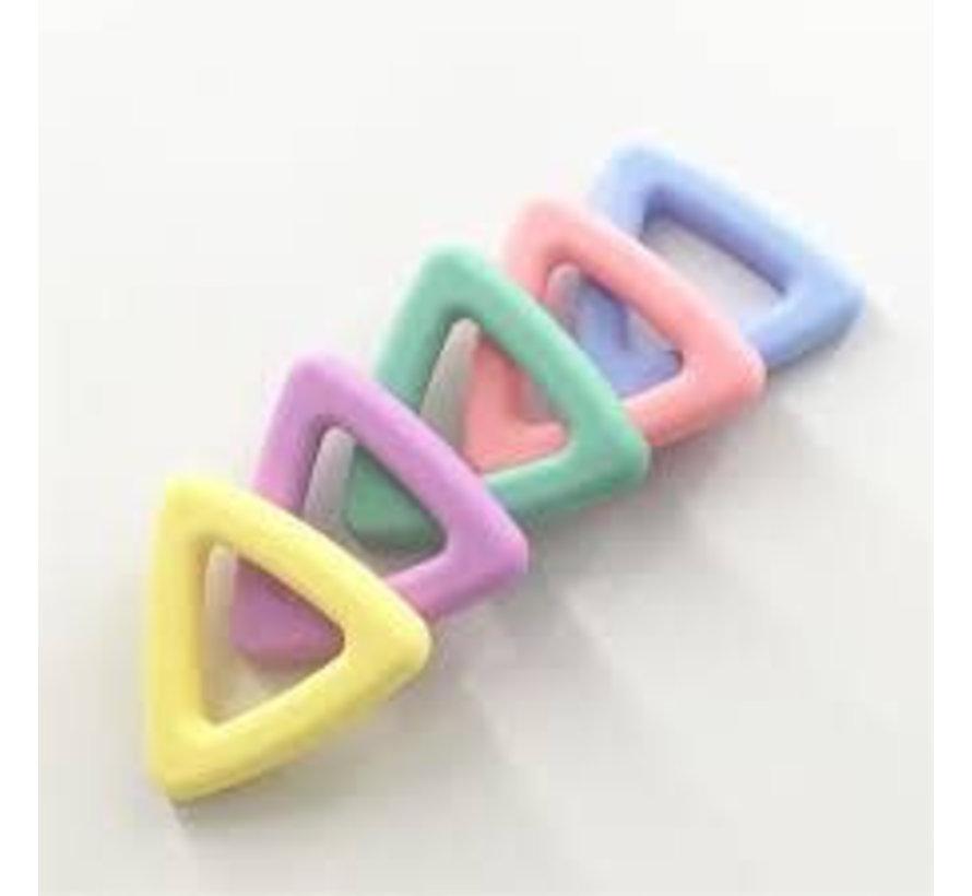 Bijtring Driehoek siliconen