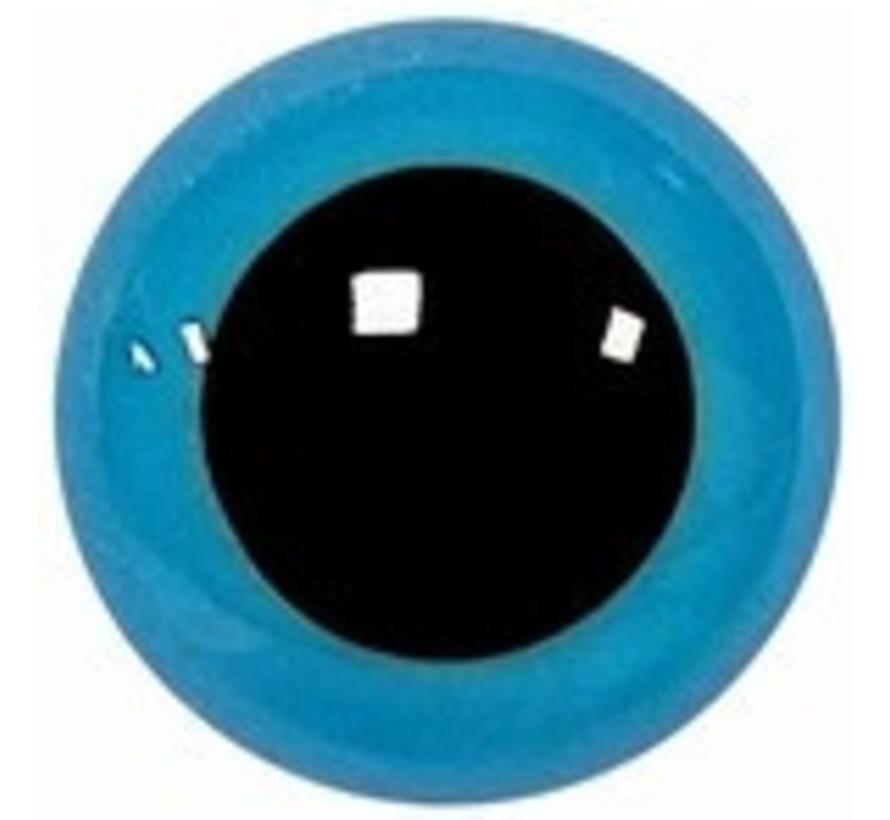 Veiligheidsoogjes Blauw