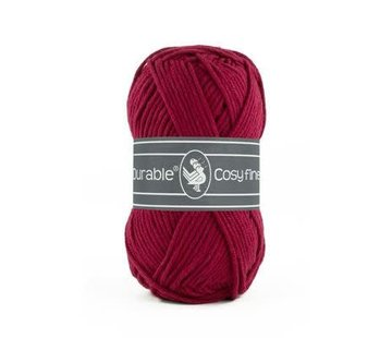 Durable Durable Cosy fine 222 Bordeaux