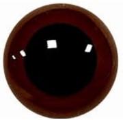 Huismerk Veiligheidsoogjes Donker bruin