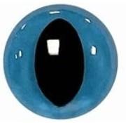 Huismerk Veiligheidsoogjes Kat Blauw
