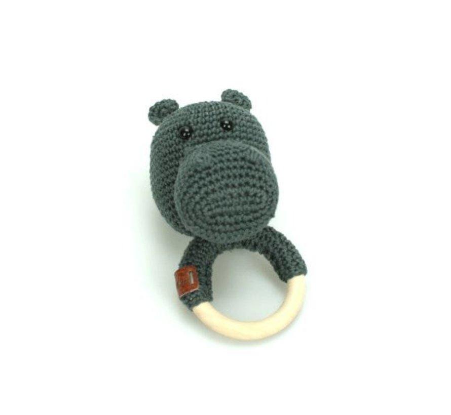 Haakpakket Nijlpaard Nero Rammelaar