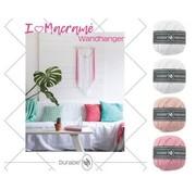 Durable Macramé Pakket I love Wandhanger